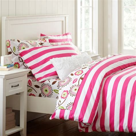 sham inserts the cheerful cottage stripe duvet cover pillowcase set