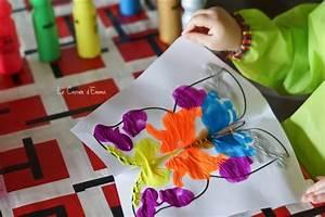 Activité Manuelle Enfant 3 Ans : activit manuelle enfant 2 3 ans papillon peinture sym trie 2 ans pinterest craft ~ Melissatoandfro.com Idées de Décoration