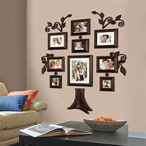 New piece family tree wall photo frame set picture