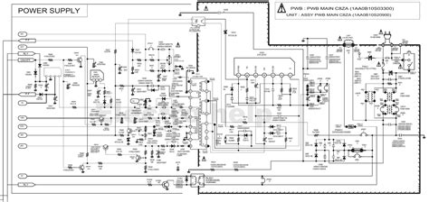 Diagram Of Television by Schematic Sanyo Cm29fs2 Crt Tv Voltage Chart