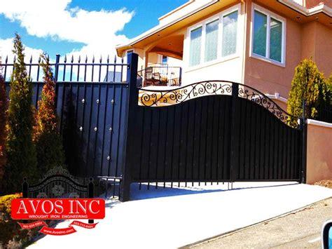 pin  avos  gates driveway gates man gate