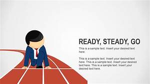 Ready Steady Go Business Analogy Slides For Powerpoint