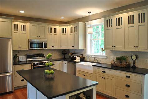 Kitchen Backsplash Ideas For Dark Cabinets - white cabinets with dark granite countertops home ideas collection best dark granite