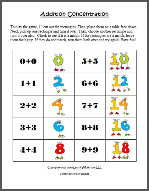 Math Worksheets Grade 1 Adding Doubles Homeshealthinfo