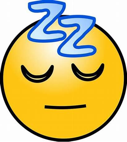 Sleep Sleeping Face Emoticons Vector Graphic