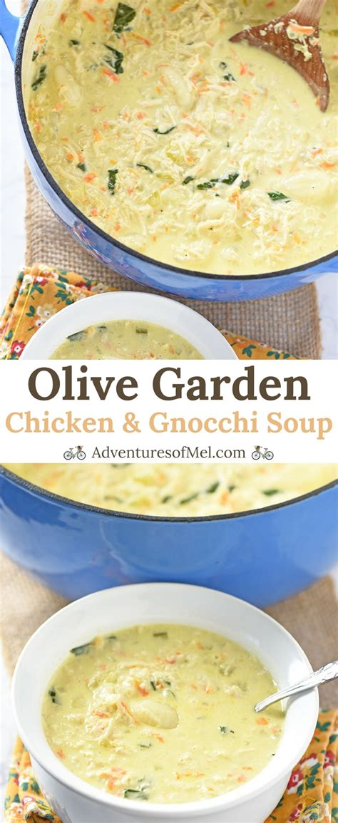 olive garden soup recipe olive garden chicken and gnocchi soup copycat