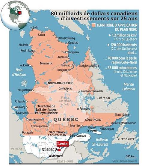 Carte Du Canada Le Monde En Marche by Canada Le Plan Nord 224 L Assaut Des Terres Ancestrales Du
