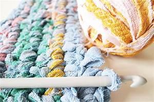 Tapis En Crochet : diy tapis de bain au crochet rock my laine ~ Teatrodelosmanantiales.com Idées de Décoration