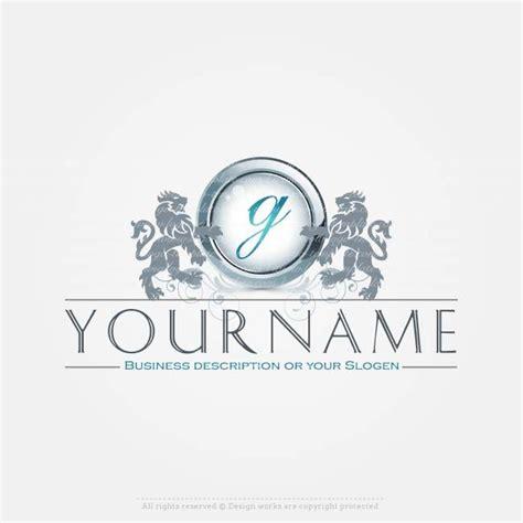 create  logo  initials lion logo template logos
