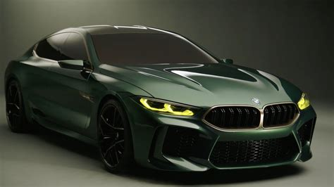 The Bmw M8 Gran Coupe Concept Details