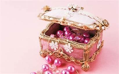 Jewelry Wallpapers Box Jewels Pink Desktop Definition