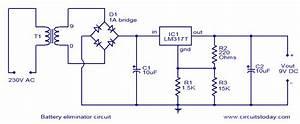 Battery Eliminator Circuit