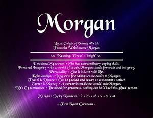 Morgan, Name, Definition