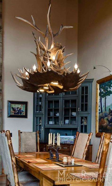 antler chandelier by the peak antler company marcie