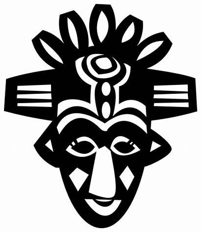 African Mask Tribal Masks Vector Svg Africa