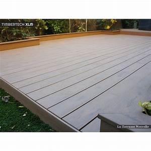 Terrasse Lame Composite : lame composite la terrasse nouvelle ~ Edinachiropracticcenter.com Idées de Décoration