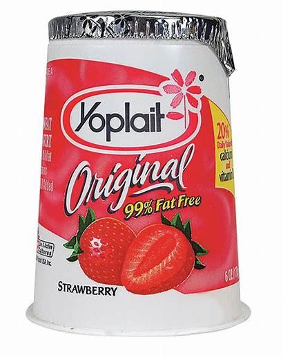 Yogurt Yoplait Strawberry Cultured Nu Eating