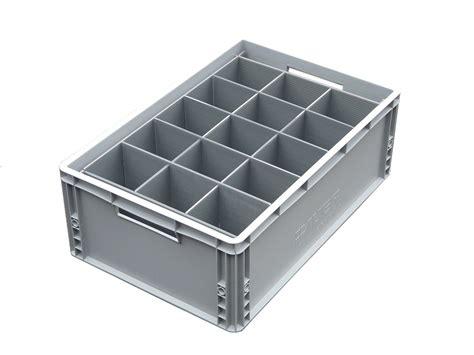 15 Cell Small Plastic Glassware Storage Box