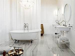 salles de bains retro 10 photos pour vous inspirer With salle de bain design avec décoration années folles
