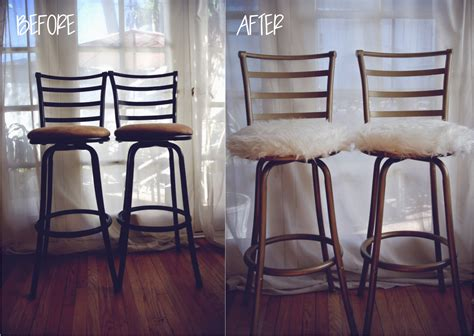 Bar Makeover by The Freebird Diy Bar Stool Makeover