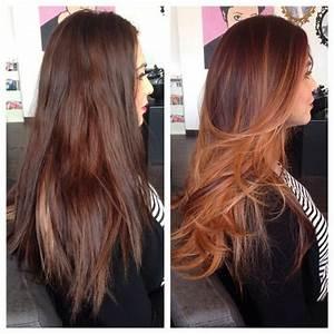 Ombré Hair Cuivré : balayage de cuivre la tendance de cet t coiffure ~ Melissatoandfro.com Idées de Décoration