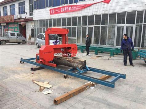 homemade bandsaw sawmill plans lumber cutting  machine horizontal band