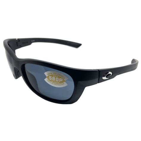 costa del mar trevally sunglasses matte black gunmetal