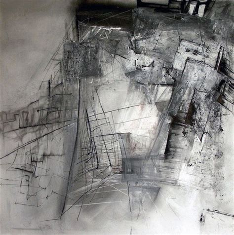 charcoal drawing original drawing pencil drawing modern abstract picture decorative arts