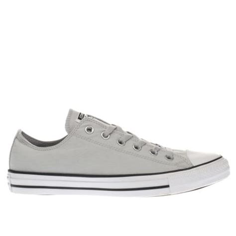 light grey converse mens light grey converse all ox chambray trainers schuh