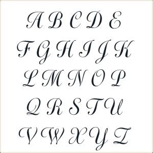 stencil embroidery font images  printable monogram letter stencils western font