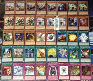 yu gi oh geargia karakuri deck ready to play 40 cards ebay