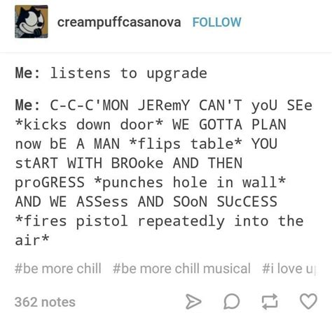 Be More Chill Memes - be more chill tumblr post musicals pinterest broadway musical theatre and fandoms