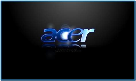 screensaver acer