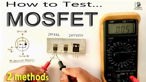 How To Test Mosfet Transistor Using Multimeter By Some