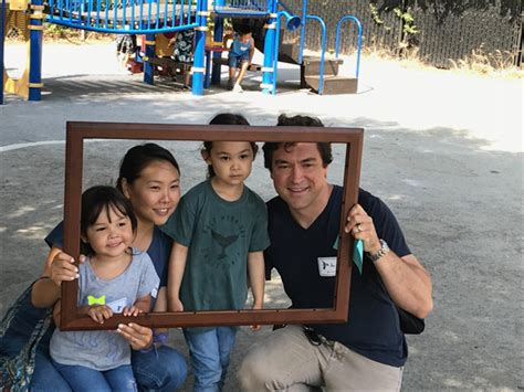 families gather at welcome event in advance of new menlo 703 | Preschool family lead 1