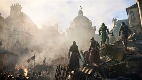 ubisoft apologises for assassin s creed unity offers free