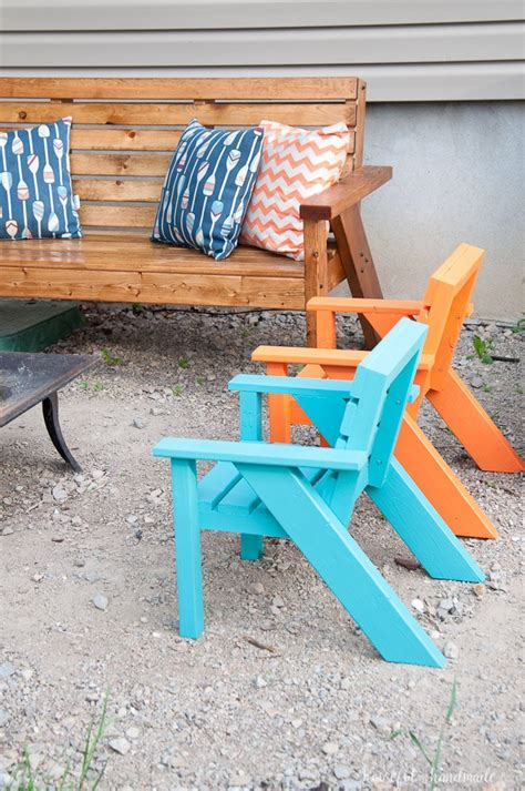 Backyard Chairs by Easy Diy Patio Chairs Houseful Of Handmade