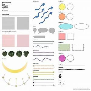 Architectural Site Analysis Symbols