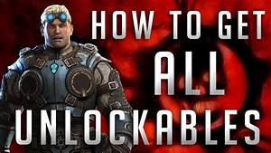 Gears Of War Judgment How To Get ALL Unlockable Skins