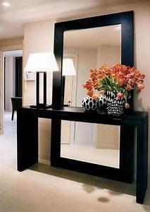 Console Entrée Ikea : quel miroir d 39 entr e choisir pour son int rieur jolies id es en photos ~ Teatrodelosmanantiales.com Idées de Décoration