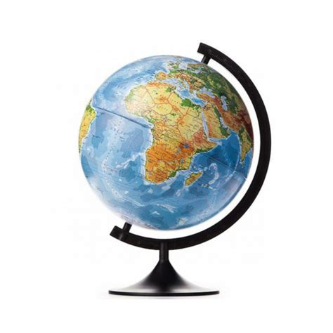 Fiziskais globuss 200 mm - Sikumi.lv. Idejas dāvanām