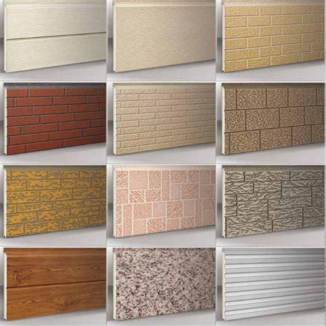 china exterior wall cladding panel china sandwich panel construction material