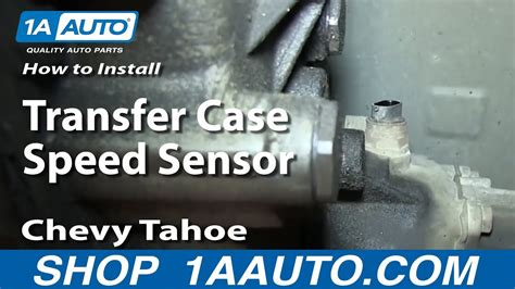 replace transfer case speed sensor   chevy
