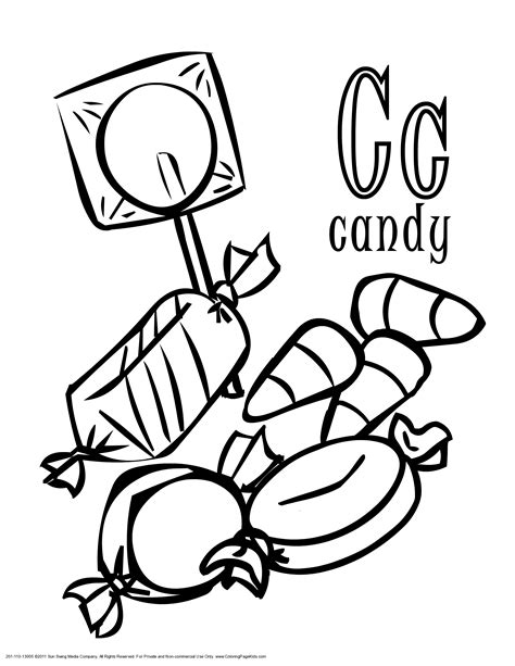 candy coloring pages coloringsuitecom