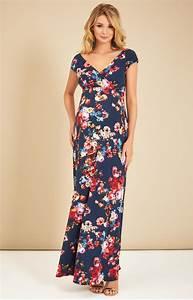 Alana maternity maxi dress midnight garden maternity for Maternity maxi dress for wedding
