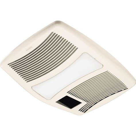 exhaust fan with light and heater qtx series very quiet 110 cfm ceiling exhaust fan with