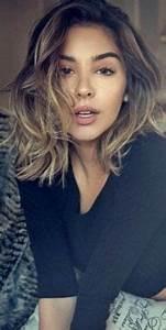 Coupe De Cheveux Femme Dégradé Mi Long : coupe cheveux mi long meche ~ Nature-et-papiers.com Idées de Décoration