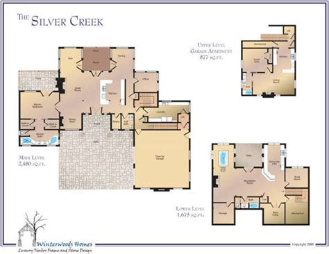 silver creek home plan  winterwoods homes