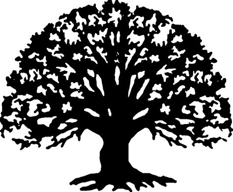 Tree Template Black And White by Family Reunion Tree Clip Art Blacktreelg Clip Png Family