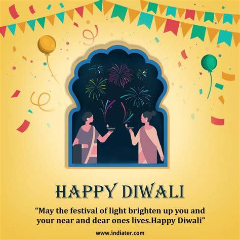 wishing  happy diwali  card design photo